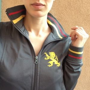 BDG Jackets & Coats - BELGIE Zip Up With Lion Crest Belgium